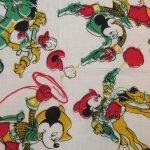 画像2: 古着 DISNEY ディズニー ミッキーマウス バンダナ スカーフ 80's アンティーク / 160314 (2)