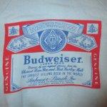 画像3: 古着 Budweiser バドワイザー ヴィンテージ 半袖スウェット SAX 70's /160423 (3)