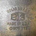 画像3: アンティーク Jeep ジープ 真鍮 ブラス バックル モーターサイクル 70's / 160514 (3)