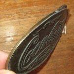 画像3: アンティーク Coca Cola コカコーラ 真鍮 ブラス バックル 企業物 70's / 160514 (3)