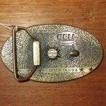 画像2: 古着 BELL HELMET ベル ブラス ベルトバックル モーターサイクル BRW 90's / 170105 (2)