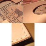 画像3: 新品 HIDE&TALLOW ハンドクラフト レザークラフト カードケース A USA 00's / 170709 (3)