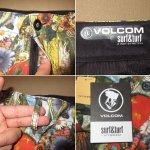 画像5: 新品 VOLCOM ボルコム FRICKIN MIXED SHORTS コラージュ 総柄 スイムショーツ ビーチショーツ スイムショーツ ショートパンツ 00's / 170721 (5)