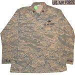 画像1: 古着 00's USAF アメリカ空軍 デジカモ ユーティリティージャケット ミリタリ- GRN /170910 (1)