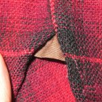 画像6: 古着 30's PENDLETON ペンドルトン オンブレチェック ウールシャツ RED/BLK /171219 (6)