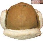 画像1: 新品 00's FILSON フィルソン TRAPPER HAT オイルドコットン ボアキャップ ハット 耳あて付き 帽子 BEI / 171221 (1)