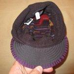 画像6: 古着 90's patagonia パタゴニア DUCK BILL ダックビル フリースキャップ 帽子 総柄  / 171221 (6)