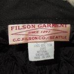 画像8: 新品 00's FILSON フィルソン TRAPPER HAT オイルドコットン ボアキャップ ハット 耳あて付き 帽子 BEI / 171221 (8)