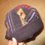 画像4: 古着 90's patagonia パタゴニア DUCK BILL ダックビル フリースキャップ 帽子 総柄  / 171221 (4)