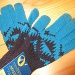 画像2: 新品 00's PENDLETON ペンドルトン ネイティヴ柄 ニットグローブ 手袋 TUQ/BLK / 180113 (2)