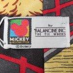 画像4: 古着 90's MICKEY MOUSE ミッキーマウス DISNEY ネクタイ カウボーイ / 180210 (4)