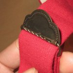 画像7: 新品 00's FILSON フィルソン made in USA レザーパーツ サスペンダー RED / 180210 (7)