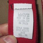 画像8: 新品 00's FILSON フィルソン made in USA レザーパーツ サスペンダー RED / 180210 (8)