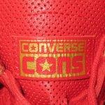 画像4: 新品 00's CONS SB コンバース ONE STAR ワンスター レザー LUNARLON ルナロン スニーカー RED / 180323 (4)