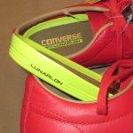 画像5: 新品 00's CONS SB コンバース ONE STAR ワンスター レザー LUNARLON ルナロン スニーカー RED / 180323 (5)
