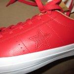 画像3: 新品 00's CONS SB コンバース ONE STAR ワンスター レザー LUNARLON ルナロン スニーカー RED / 180323 (3)