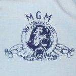 画像4: 古着 80's Colloegiate Pacific MGM フロッキープリント スイングトップ ジャケット SAX / 180416 (4)