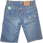 画像2: 古着 90's Levi's 519 リーバイス カットオフ デニム ショートパンツ BLUE made in USA  / 180531 (2)
