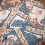 画像5: 古着 90's Reyn Spooner レインスプーナー サーフィン柄 裏地使い P/O アロハシャツ MIX / 180709 (5)