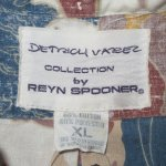 画像6: 古着 90's Reyn Spooner レインスプーナー サーフィン柄 裏地使い P/O アロハシャツ MIX / 180709 (6)
