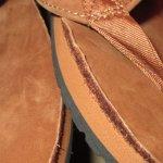 画像8: 新品 00's Ralph Lauren ラルフローレン レザー ヌバック ビーチサンダル BRW  / 180716 (8)