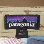 画像8: 新品 00's patagonia パタゴニア PRINTED WAVEFARER BOARD SHORTS ボードショーツ BLUE / 180801 (8)