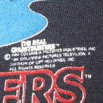画像4: 古着 80's GHOSTBUSTERS ゴーストバスターズ SLIMER スライマー クルースウェット BLK /180903 (4)