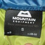 画像7: 新品 00's MOUNTAIN EQUIPMENT マウンテンイクイップメント Dewline vest ダウンベスト BLUE / 181119 (7)