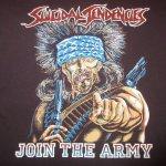 画像3: 古着 80's SUICIDAL TENDENCIES スイサイダルテンデンシーズ JOIN THE ARMY Tシャツ BLK / 181121 (3)