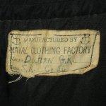画像6: 古着 40's USN US NAVY アメリカ海軍 10ボタン チンスト付き ミリタリー Pコート NVY /181127 (6)
