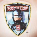 画像3: デッドストック 古着 90's ROBO COP 2 ロボコップ2 映画 Tシャツ WHT  / 181129 (3)