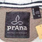 画像11: 新品 00's prana プラナ Lifestyle Full Zip Lined Hood 内ボア スウェットパーカ BLK /181204 (11)