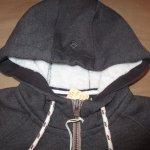 画像3: 新品 00's prana プラナ Lifestyle Full Zip Lined Hood 内ボア スウェットパーカ BLK /181204 (3)