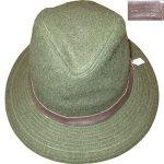 画像1: 古着 70's C.C.FILSON CO フィルソン ウールハット 帽子 GRN / 181206 (1)