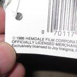 画像5: デッドストック 80's PLATOON プラトーン 戦争映画 紙タグ キャップ CAP 帽子 OLV / 181206 (5)