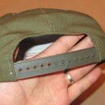 画像7: デッドストック 80's PLATOON プラトーン 戦争映画 紙タグ キャップ CAP 帽子 OLV / 181206 (7)