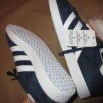 画像9: 新品 00's adidas アディダス GAZELLE ガッツレー スニーカー NVY / 181213 (9)