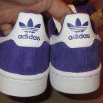 画像7: 新品 00's adidas アディダス CAMPUS キャンパス スニーカー PUP / 181213 (7)