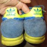 画像8: 古着 80's adidas アディダス TRX スニーカー ユーゴスラビア製 / 181213 (8)