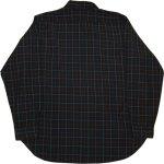 画像2: 古着 70's SIR PENDLETON ペンドルトン ウールシャツ BLK /181218 (2)