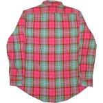 画像2: 古着 90's Ralph Lauren ラルフローレン エルボーパッチ ネルシャツ MIX /181218 (2)