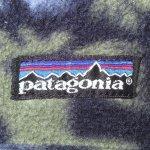 画像5: 古着 90's patagonia パタゴニア Rマーク 動物 総柄 スナップT フリース ジャケット アウトドア NVY / 190108 (5)