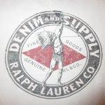 画像5: 古着 00's DENIM&SUPPLY デニム&サプライ RL 前V インディアン スウェット WHT /190115 (5)