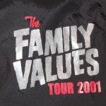 画像4: デッドストック 00's THE FAMILY VALUES TOUR 2001 音楽フェス ナイロン コーチジャケット BLK / 190119 (4)