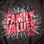 画像6: デッドストック 00's THE FAMILY VALUES TOUR 2001 音楽フェス ナイロン コーチジャケット BLK / 190119 (6)