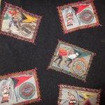 画像4: 古着 80's Eddie Bauer エディバウアー スキーパッチ ウール混 ベスト 黒タグ BLK / 190122 (4)