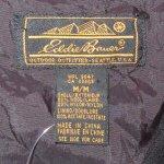 画像6: 古着 80's Eddie Bauer エディバウアー スキーパッチ ウール混 ベスト 黒タグ BLK / 190122 (6)