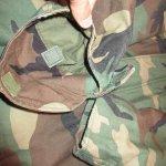 画像10: 古着 90's US ARMY AIR FORCE M-65 ミリタリー フィールドジャケット カモ 時計仕掛けのオレンジ /190127 (10)