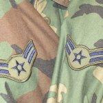 画像7: 古着 90's US ARMY AIR FORCE M-65 ミリタリー フィールドジャケット カモ 時計仕掛けのオレンジ /190127 (7)