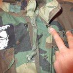 画像8: 古着 90's US ARMY AIR FORCE M-65 ミリタリー フィールドジャケット カモ 時計仕掛けのオレンジ /190127 (8)